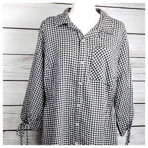 Ava & Viv Plaid Dress Sz 1X